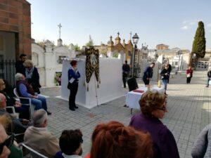 Celebración de la Romería de la virgen del Pincho en el Cementerio de Chauchina