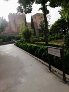 Acceso a los Palacios Nazaríes