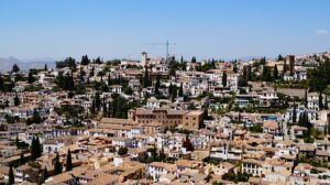 Albaicín desde la Alhambra